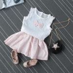 เสื้อ+กระโปรง สีชมพู แพ็ค 5ชุด ไซส์ 7-9-11-13-15