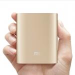 Xiaomi Power Bank 10400 มิลลิแอมป์ แบตเตอรี่สำรอง ของแท้  สีทอง