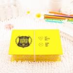 กระเป๋าดินสอ / ใส่ของ EXO XOXO (สีเหลือง)