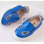 รองเท้าเด็กแฟชั่น สีน้ำเงิน แพ็ค 5 คู่ ไซส์ 21-22-23-24-25