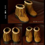 รองเท้าเด็กแฟชั่น สีน้ำตาล แพ็ค 5 คู่ ไซส์ 26-27-28-29-30