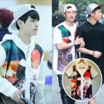 เสื้อแฟชั่นเกาหลี iKON B.I EXO BAEKHYUN