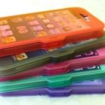 เคส iphone 5 ซิลิโคน สำหรับไอโฟน เคสแบบล็อค ทัชกรีนได้ ราคาส่ง