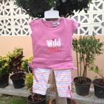 ชุดเซ็ตลาย Wind Child สีม่วง
