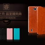 MOFI Luxury Flip Leather Phone Case for Huawei Honor 3C