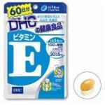 DHC Vitamin E 60 วัน วิตามิน ช่วยบำรุงผิวพรรณ ลดริ้วรอยจากสิวช่วยให้ผิวแลดูอ่อนกว่าวัย