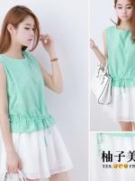 Pre  เดรส YOZI  AF902 เสื้อผ้าแฟชั่นเกาหลีราคาถูก