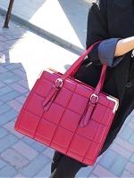 กระเป๋าแฟชั่น Maomaobag - 073 สี Red (FREE จัดส่ง)