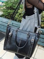 กระเป๋าแฟชั่น Maomaobag - 095 สี ฺBlack (พร้อมส่ง)