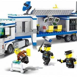 ตำรวจ (police) W-52013 รถตำรวจโมบาย