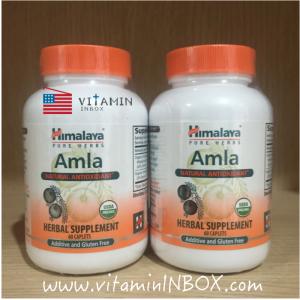 # ขาวเร็ว # Himalaya Herbal Healthcare, Amla C, Natural Antioxidant, 60 Caplets