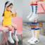 ถุงเท้ายาว สีแดง แพ็ค 10 คู่ ไซส์ S (อายุ 1-3 ปี) thumbnail 2