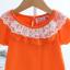 เสื้อ สีส้ม แพ็ค 5ชุด ไซส์ 90-100-110-120-130 thumbnail 3