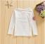 เสื้อ สีขาว แพ็ค 5ชุด ไซส์ 100-110-120-130-140 thumbnail 4