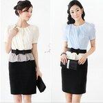 Lily OL style Korean Slim dress