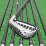 TAYLORMADE ROCKETBLADEZ IRONS 4-PW & GW (8PC) ROCKETFUEL 65 FLEX R