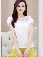 Pre เสื้อ แฟชั่น ราคาถูก สีขาว มีไซด์ S/M/L/XL/2XL
