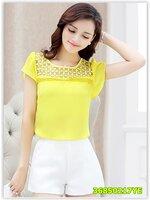 Pre เสื้อ แฟชั่น ราคาถูก สีเหลือง มีไซด์ S/M/L/XL/2XL