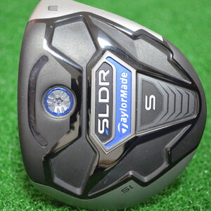 TAYLORMADE SLDR S FAIRWAY 15* 3 WOOD FUJIKURA SPEEDER 65 FLEX S