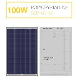 แผงโซล่าเซลล์ 100W Poly Solarshop