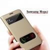 (696-001)เคสมือถือซัมซุง Samsung Galaxy Mega2 เคสฝาพับเปิดข้างมีช่องโชว์หน้าจอ