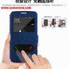 (005-046)เคสมือถือซัมซุง Case Samsung S6 edge เคสพลาสติกสมุดเปิดข้างฝาพับ PU ลายผ้าไหมโชว์ 2 หน้าจอ