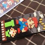 (151-386)เคสมือถือไอโฟน case iphone 6Plus/6S Plus เคสพลาสติกเลโก้มาริโอ้
