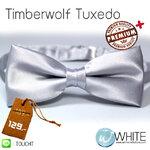 Timberwolf Tuxedo - หูกระต่าย สีเทา (54) เนื้อผ้าผิวมัน เรียบ เกรต A (BT291A) by WhiteMKT