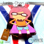 Junko-Chan Collection สายเอี้ยมเด็กเล็ก (Cute Suspenders) สำหรับเด็กเล็กประมาณ 5 ขวบ การ์ตูนญี่ปุ่น เสื้อส้ม (CT161) by WhiteMKT