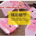 (388-049)เคสมือถือซัมซุง Case Samsung A8 เคสนิ่มใสกระต่าย 3D หูใช้ตั้งโทรศัพท์ได้