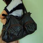 fp0189(B+) กระเป๋าหนังแท้ Denim