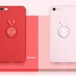 (693-004)เคสมือถือไอโฟน Case iPhone 7 Plus/8 Plus เคสนิ่ม Lovely Rabbit
