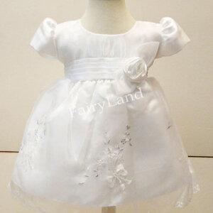 เสื้อผ้าเด็กเล็กใส่ออกงานไปงานแต่งแขนตุ๊กตา BL233