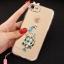 (025-979)เคสมือถือไอโฟน Case iPhone7/iPhone8 เคสนิ่มซิลิโคนใสลายหรูติดคริสตัล พร้อมแหวนเพชรวางโทรศัพท์ และสายคล้องคอถอดแยกสายได้ thumbnail 17