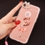 (025-979)เคสมือถือไอโฟน Case iPhone7/iPhone8 เคสนิ่มซิลิโคนใสลายหรูติดคริสตัล พร้อมแหวนเพชรวางโทรศัพท์ และสายคล้องคอถอดแยกสายได้ thumbnail 2