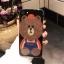 (025-987)เคสมือถือไอโฟน Case iPhone7/iPhone8 เคสนิ่มหมีไลน์ Glitter thumbnail 2