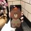 (025-987)เคสมือถือไอโฟน Case iPhone7/iPhone8 เคสนิ่มหมีไลน์ Glitter thumbnail 3