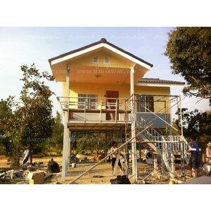 บ้านโมบายขนาด 6*6 เมตรระเบียง 3*3 เมตร ราคา 506,000 บาท