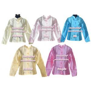 เสื้อคอตั้งแขนยาว-ผ้าไหมอิตาลี *รายละเอียดตามหน้าสินค้า