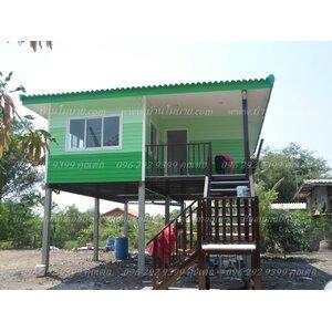 บ้านโมบายขนาด 8*6 เมตรระเบียง 2.5*3 เมตร ราคา 525,000 บาท