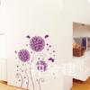 wall sticker ดอกไม้ฟองกลม a67