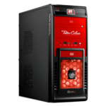 Case Tsunami Tattoo T1 [Black Red]