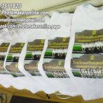 026 สกรีนเสื้อยืดขาว M