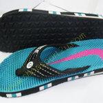 รองเท้าแตะ nike สีเขียวเืกือบฟ้า สำหรับผู้หญิง