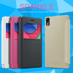 Lenovo VIBE Shot - เคสฝาพับ Nillkin Sparkle leather case แท้