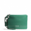 COACH  PARK LEATHER SMALL WRISTLET  style: F49475