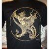 ลายพญาครุฑ size M (T-shirt LineTHAI : Paya Krut)