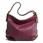 COACH  LEATHER DUFFLE  style: F15064