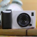 เคสไอโฟน5/5s (Case Iphone5/5s) Hard Case ( i camera case กล้องถ่ายรูป สีขาว)