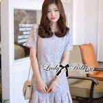 Lady Corey Sweet Mixed Print Ruffle Dress